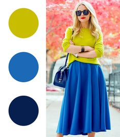 Cool color combos to try.