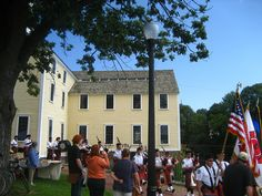 Parade during the Labor and Ethnic Heritage Festival at Slater Mill