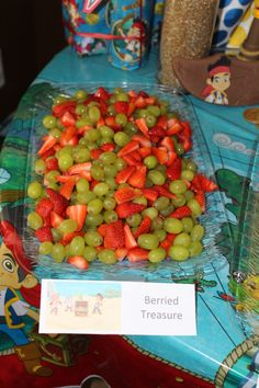 """Jake and the Neverland Pirates Party - """"Berried"""" Treasure"""