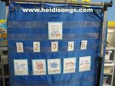 Pete the Cat Sequencing Activity from HeidiSongs- Freebie!