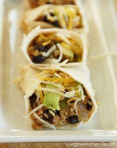 Quinoa Tacos | Living the Healthier Life