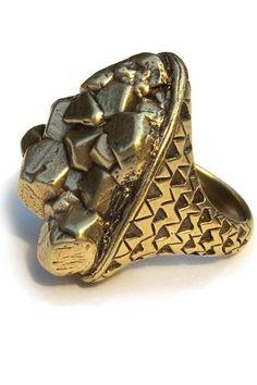Kathryn Bentley Pyrite Ring