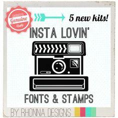 Instagram + Rhonna Designs + Phonto = cReative FUN!