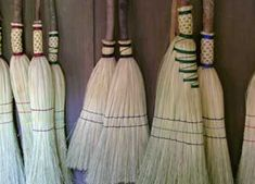 HOW TO MAKE A BROOM: I once read from an survival expert that having an ability to make something or teach something of importance will be the key to how well one survives and even thrives in diversity. Even the ability to make a broom! Here...an expert broom maker explains the basic steps to making a functional and attractive broom.