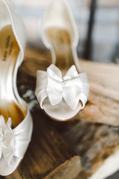 Kate Spade Wedding Shoes | See the wedding on #SMP: http://www.stylemepretty.com/2013/12/26/the-mountain-top-inn-winter-wedding/ Cambria Grace Photography