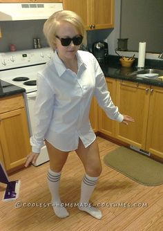 Last-Minute Sexy Risky Business Costume... Coolest Halloween Costume Contest
