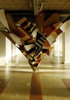 Clemens Behr, New Cardboard Installations