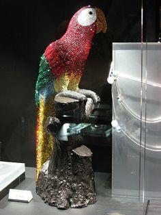 Swarovski Crystal Parrot