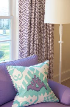 turquoise + purple | House of Turquoise: Kerry Hanson Design
