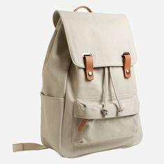 The Twill Backpack - Bone – Everlane