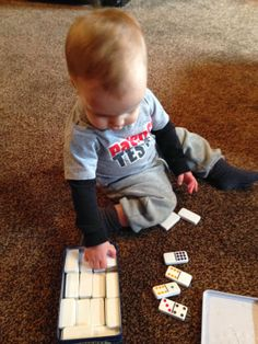 Life on the Trail: Tot School: 15 1/2 months