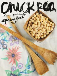 Chickpea issue #3. Free vegan zine, check it out! (I have a soup article in this issue.)