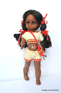 Boneca Negra da atma