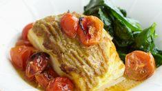 Kabeljauw met groene curry en kerstomaatjes   VTM Koken