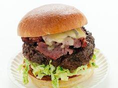 Fat Doug Burger Recipe : Michael Symon : Food Network - FoodNetwork.com
