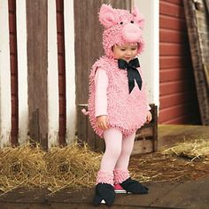 Chasing Fireflies Squiggly Pig Costume at HSN.com.