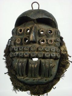 Fine African Tribal Mask BETE Mask Collectible African Art