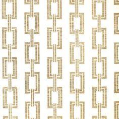 Phillip Jeffries chain link in gold