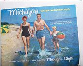 1950's Michigan Travel Guide