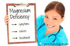 Magnesium Deficiency: Symptoms, Causes, & Treatment