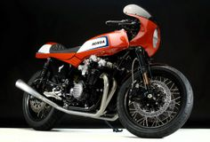Here's an amazing Honda CB1100F resto-mod from @Dime City Cycles and Dairyland Insurance. There's a great story about the build on Motorcycle Classics: Pour yourself a coffee and enjoy.