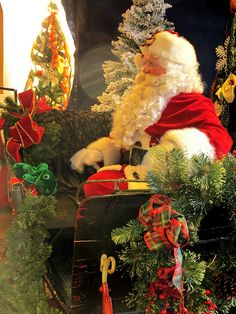 Santa Claus in Colonial Williamsburg