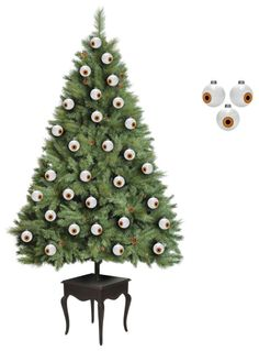 googly eye tree