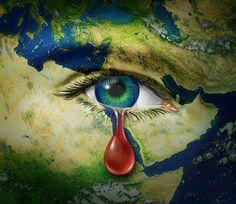 O mundo chora