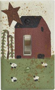 Saltbox Switchplate - Single