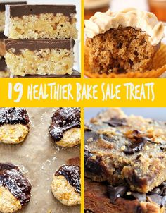 19 Healthier Ways To Rock Your Next Bake Sale
