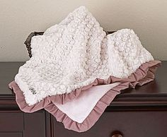 COCALO Baby : Nursery Collections : Daniella Textured Blanket