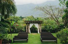 outdoor puerto rican weddings // via ruffledblog.com