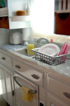 Miniature modern kitchen