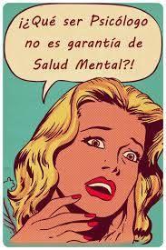 Ser psicologo no es garantia de salud mental #humor #psicologia