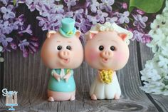 Little Piggy Bride & Groom