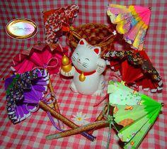 Make Beautiful Origami Japanese Umbrellas
