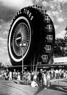 Ferris wheel/tire