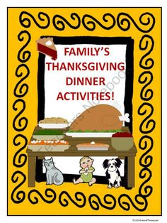 Family's Thanksgiving Dinner Activities and Games! Enter for your chance to win 1 of 5.  Familys Thanksgiving Dinner Activities and Games (28 pages) from Donna-Thompson on TeachersNotebook.com (Ends on on 10-31-2014)  Common Core 4.NBT.4; 4NBT.5; 4.NBT.6  This product contains two sets of twenty-four math task cards: One set of multiplication cards and one set of division task cards. The division cards require students to find whole number quotient with four-digit dividends and ...