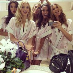 #Backstage At The Victoria's Secret Fashion Show 2013 - #fashion #girls #VSFashionShow #models - rossdujour.com