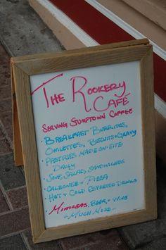 The Rookery Cafe: Ju