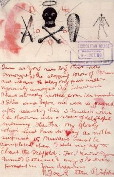 Another supposed Jack the Ripper letter