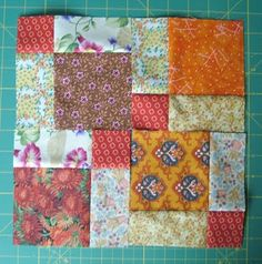 Disappearing 9 Patch Tutorial. On my list of quilts to make.