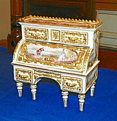 Miniature French Desk. 18th/19th Century.