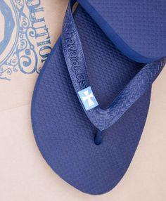 Sigma Chi Flip Flops. I like the subtlety. $19.50