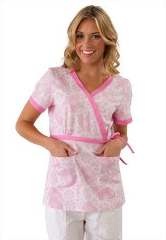 Cute! Love this scrub top