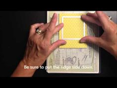 Create a Polaroid Frame with Square Framelits