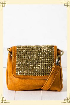 Metal Gleam Crossbody