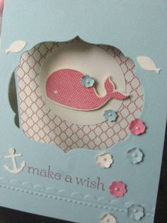 Oh Whale Birthday Card by Chanron - Cards and Paper Crafts at Splitcoaststampers