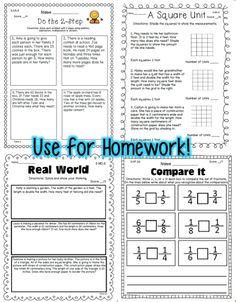 Third Grade Math Homework