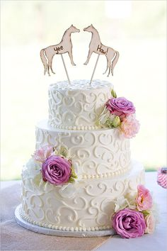 #Purple Wedding Cake ... Wedding ideas for brides, grooms, parents & planners ... https://itunes.apple.com/us/app/the-gold-wedding-planner/id498112599?ls=1=8 … plus how to organise an entire wedding, without overspending ♥ The Gold Wedding Planner iPhone App ♥